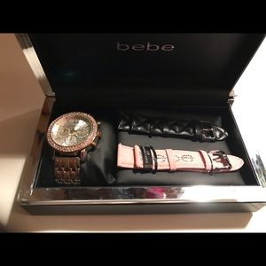 Bebe watch gift set